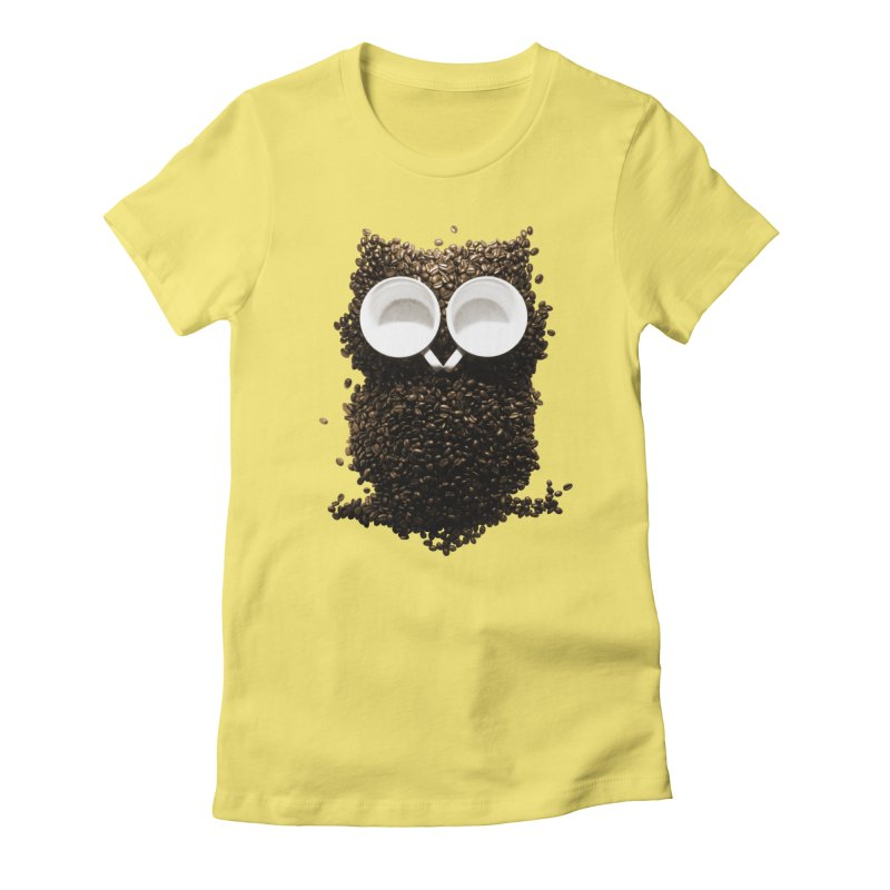 Hoot! Night Owl! Women's T-Shirt by Apparel by Marco aka ivejustquitsmoking