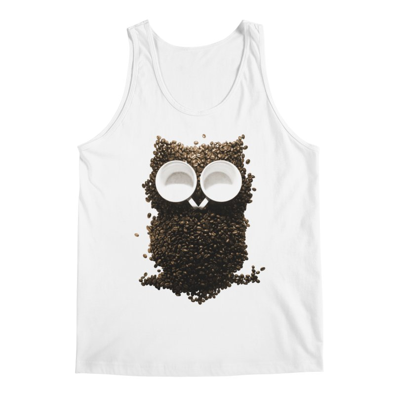 Hoot! Night Owl! Men's Regular Tank by Apparel by Marco aka ivejustquitsmoking