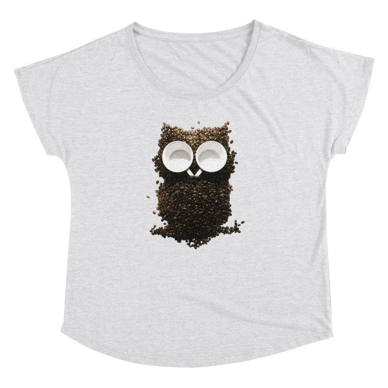 Hoot! Night Owl! Women's Dolman by Apparel by Marco aka ivejustquitsmoking