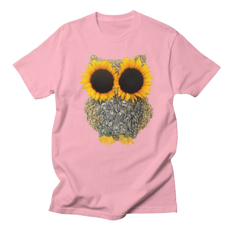 Hoot! Day Owl! Men's Regular T-Shirt by Apparel by Marco aka ivejustquitsmoking