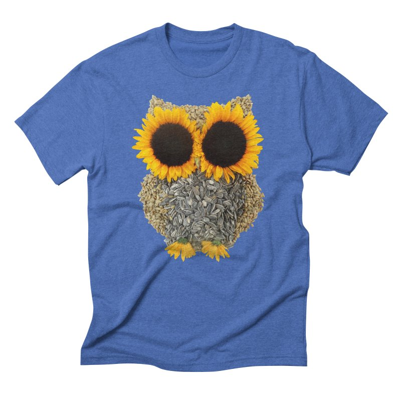 Hoot! Day Owl! Men's T-Shirt by Apparel by Marco aka ivejustquitsmoking