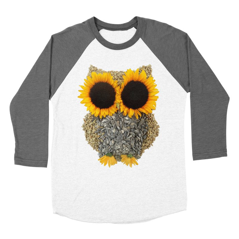 Hoot! Day Owl! Women's Baseball Triblend T-Shirt by Apparel by Marco aka ivejustquitsmoking