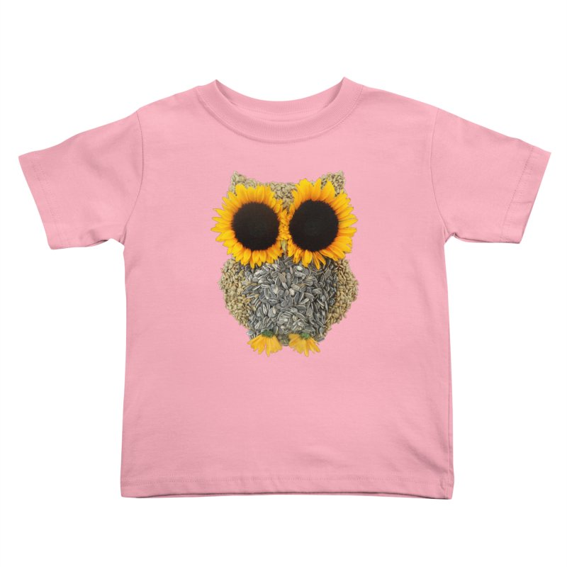 Hoot! Day Owl! Kids Toddler T-Shirt by Apparel by Marco aka ivejustquitsmoking