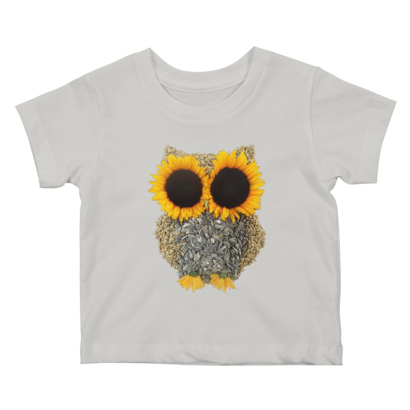 Hoot! Day Owl! Kids Baby T-Shirt by Apparel by Marco aka ivejustquitsmoking