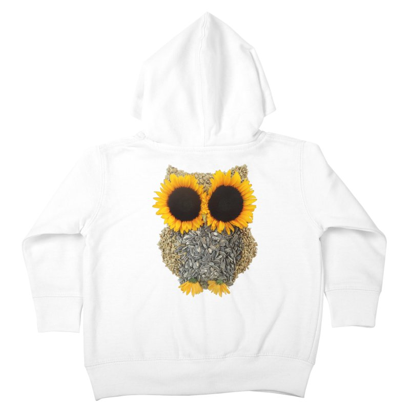 Hoot! Day Owl! Kids Toddler Zip-Up Hoody by Apparel by Marco aka ivejustquitsmoking