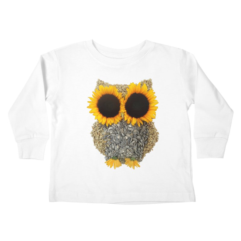 Hoot! Day Owl! Kids Toddler Longsleeve T-Shirt by Apparel by Marco aka ivejustquitsmoking