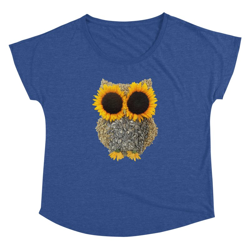 Hoot! Day Owl! Women's Dolman by Apparel by Marco aka ivejustquitsmoking