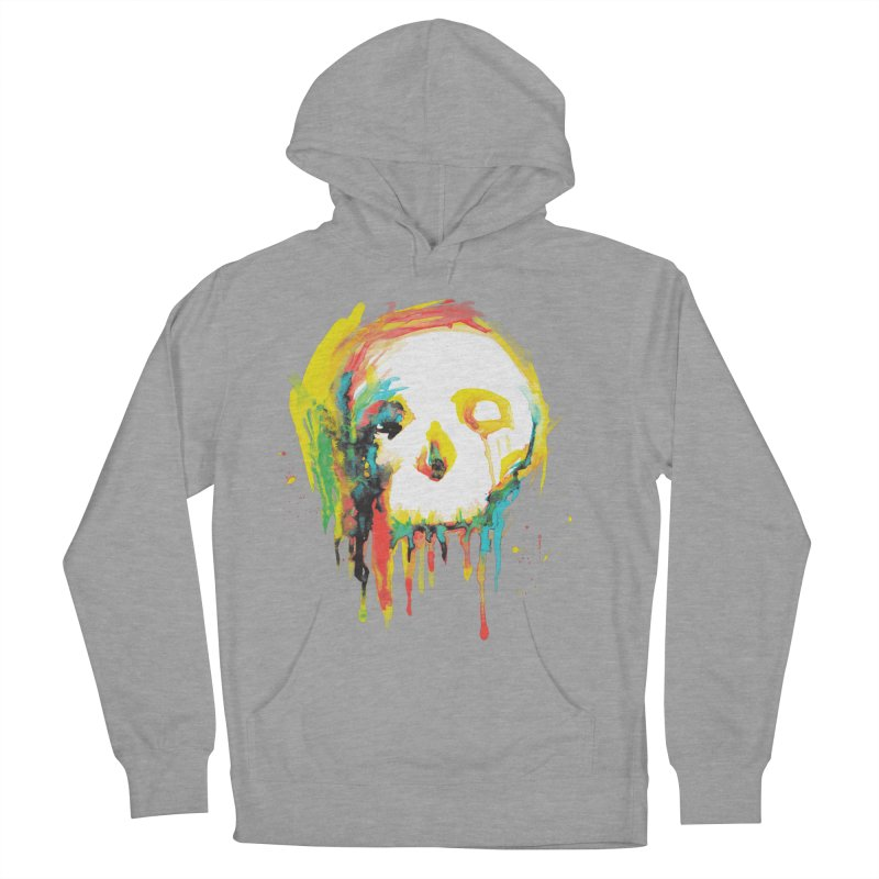 Happy/Grim Men's French Terry Pullover Hoody by Apparel by Marco aka ivejustquitsmoking