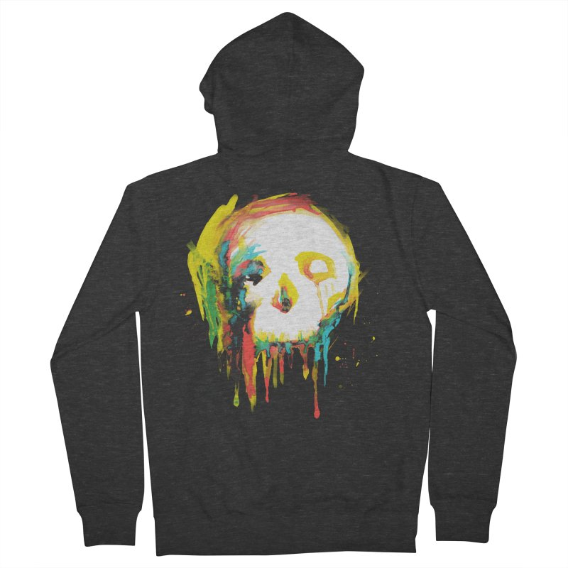 Happy/Grim Men's Zip-Up Hoody by Apparel by Marco aka ivejustquitsmoking