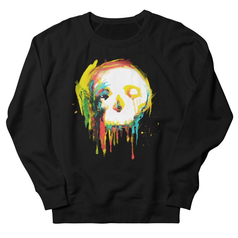 Happy/Grim Women's French Terry Sweatshirt by Apparel by Marco aka ivejustquitsmoking