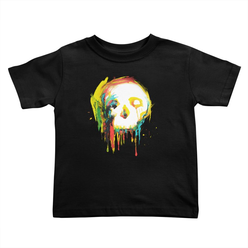 Happy/Grim Kids Toddler T-Shirt by Apparel by Marco aka ivejustquitsmoking