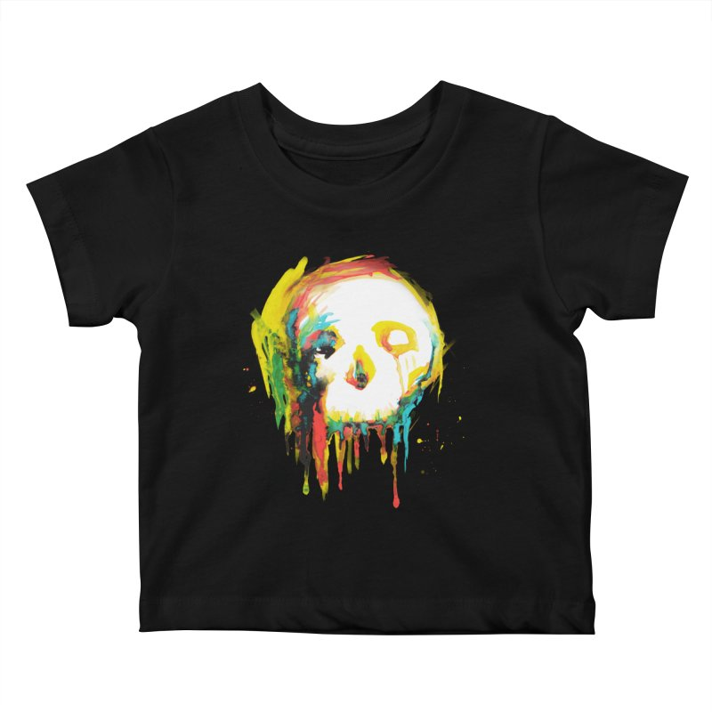 Happy/Grim Kids Baby T-Shirt by Apparel by Marco aka ivejustquitsmoking