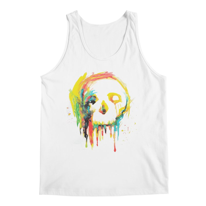 Happy/Grim Men's Tank by Apparel by Marco aka ivejustquitsmoking