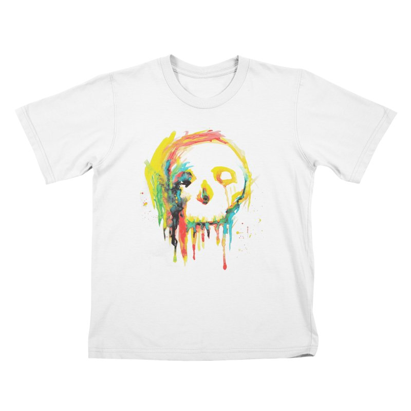 Happy/Grim Kids T-Shirt by Apparel by Marco aka ivejustquitsmoking