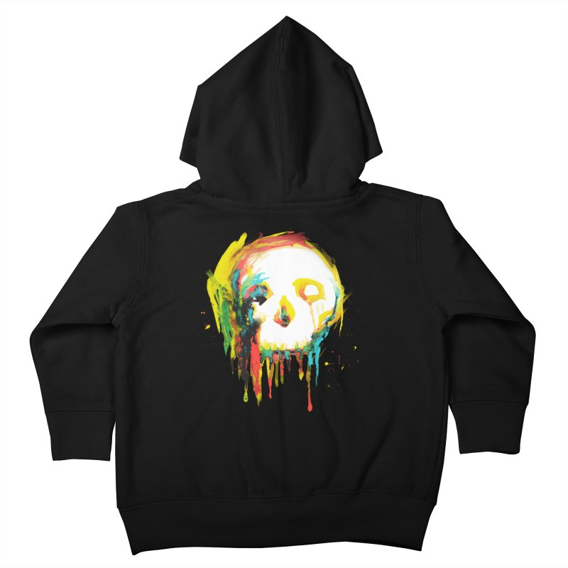 Happy/Grim Kids Toddler Zip-Up Hoody by Apparel by Marco aka ivejustquitsmoking