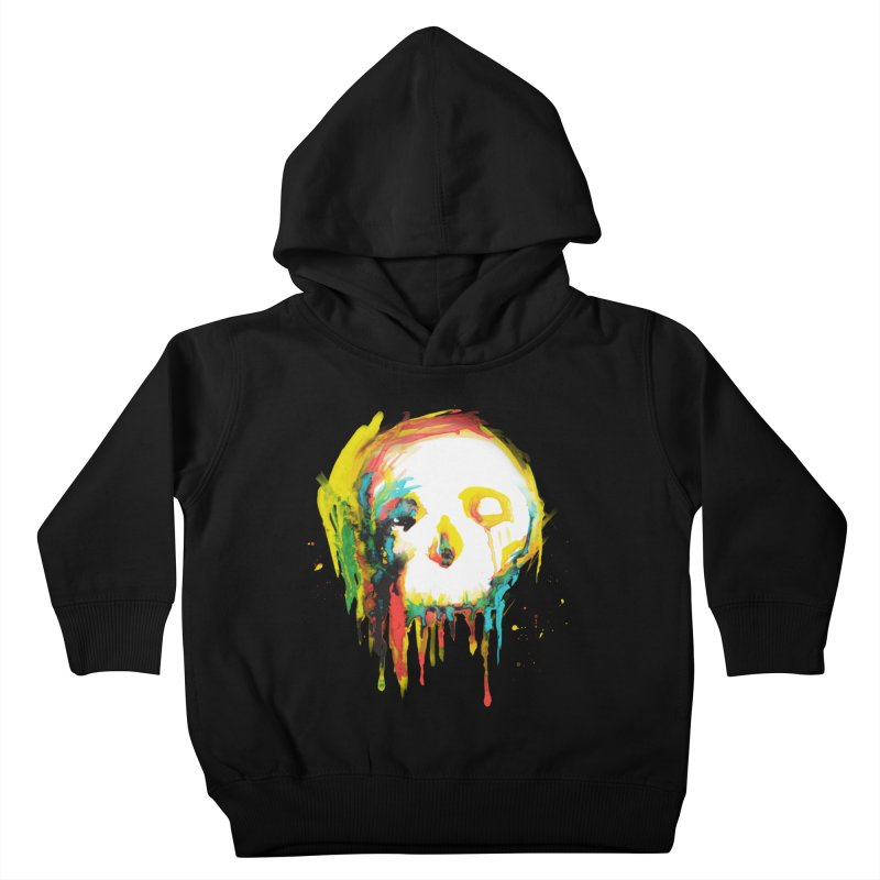 Happy/Grim Kids Toddler Pullover Hoody by Apparel by Marco aka ivejustquitsmoking