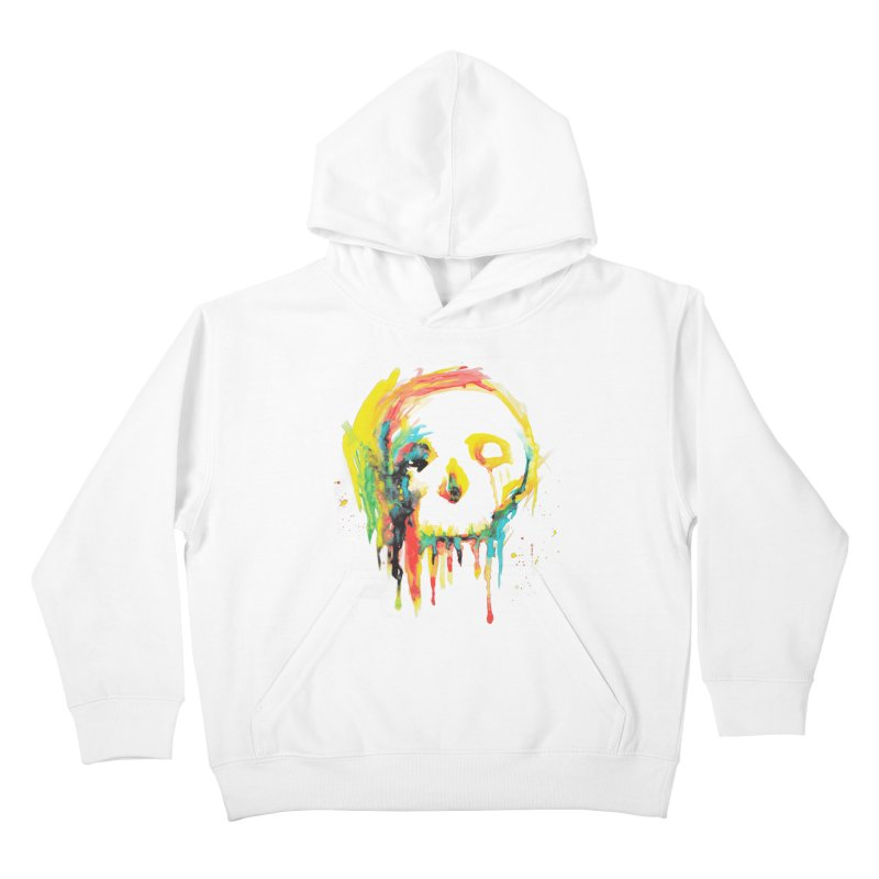 Happy/Grim Kids Pullover Hoody by Apparel by Marco aka ivejustquitsmoking