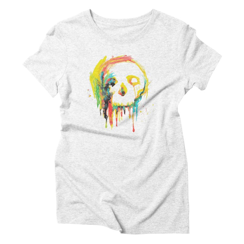 Happy/Grim Women's Triblend T-shirt by Apparel by Marco aka ivejustquitsmoking
