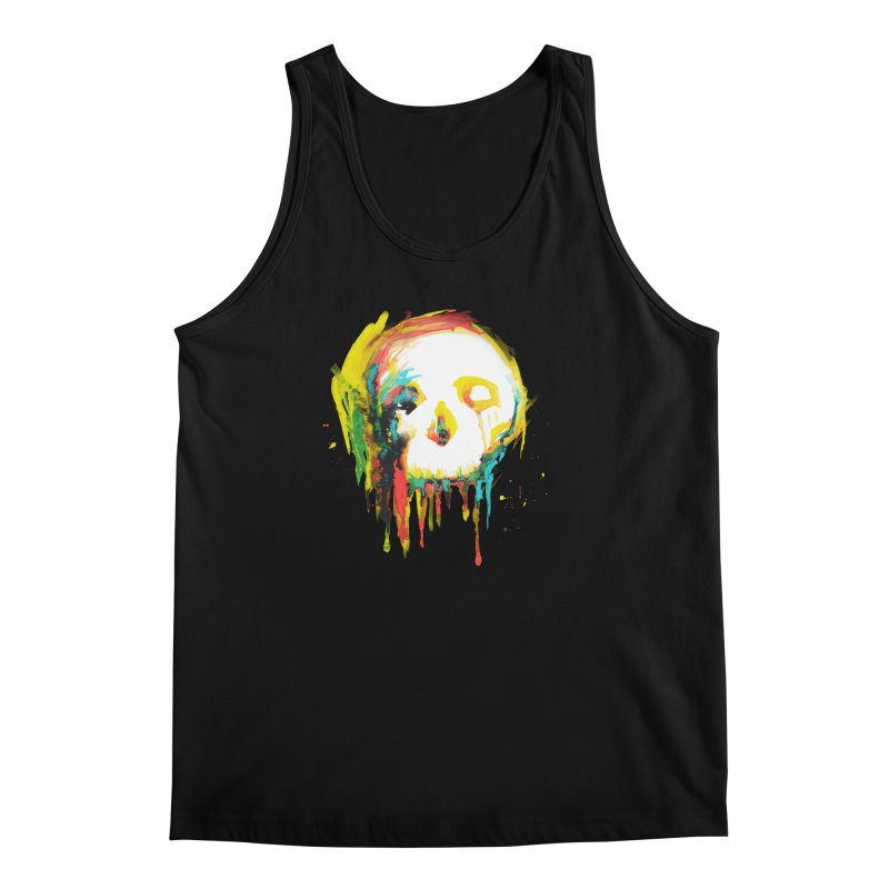 Happy/Grim Men's Regular Tank by Apparel by Marco aka ivejustquitsmoking