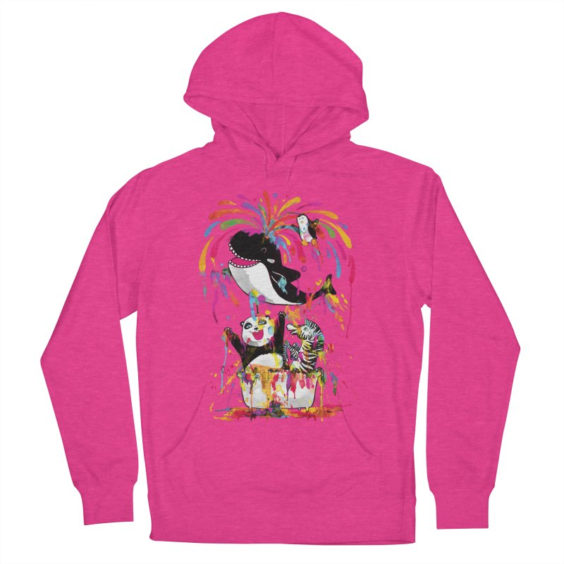 Whale of a Bath Time! Women's French Terry Pullover Hoody by Apparel by Marco aka ivejustquitsmoking