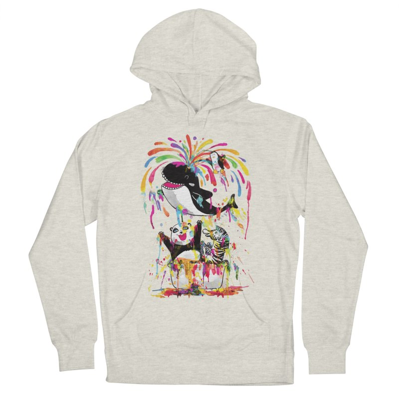 Whale of a Bath Time! Men's French Terry Pullover Hoody by Apparel by Marco aka ivejustquitsmoking