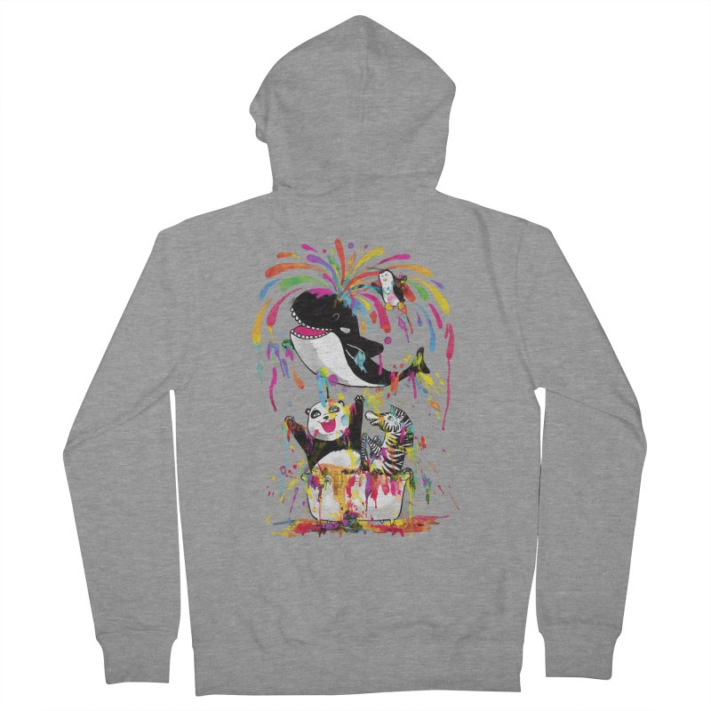 Whale of a Bath Time! Women's Zip-Up Hoody by Apparel by Marco aka ivejustquitsmoking