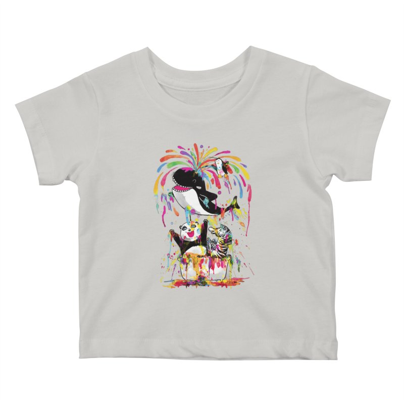 Whale of a Bath Time! Kids Baby T-Shirt by Apparel by Marco aka ivejustquitsmoking