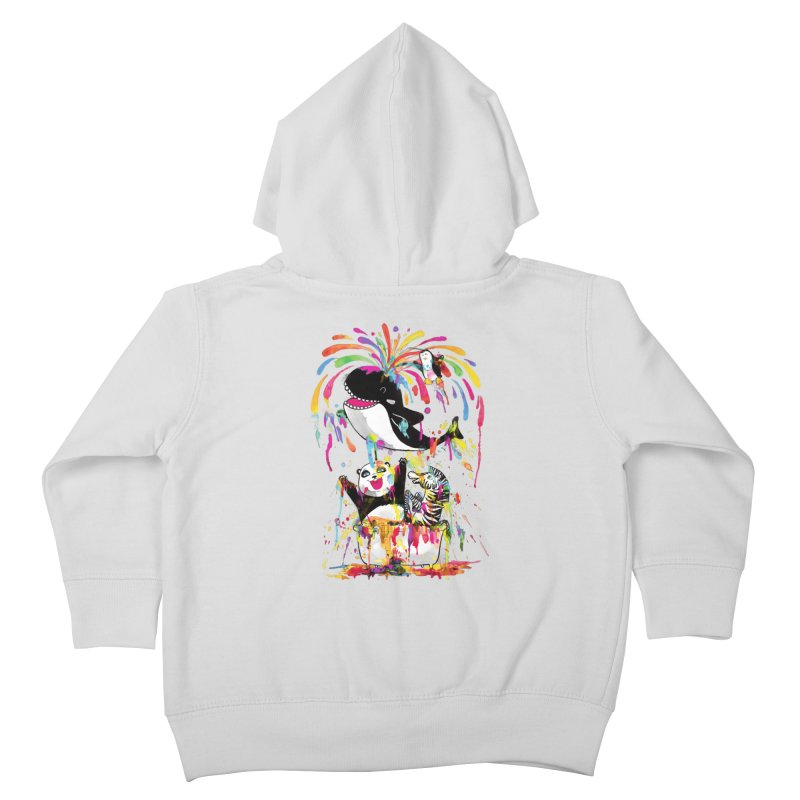 Whale of a Bath Time! Kids Toddler Zip-Up Hoody by Apparel by Marco aka ivejustquitsmoking