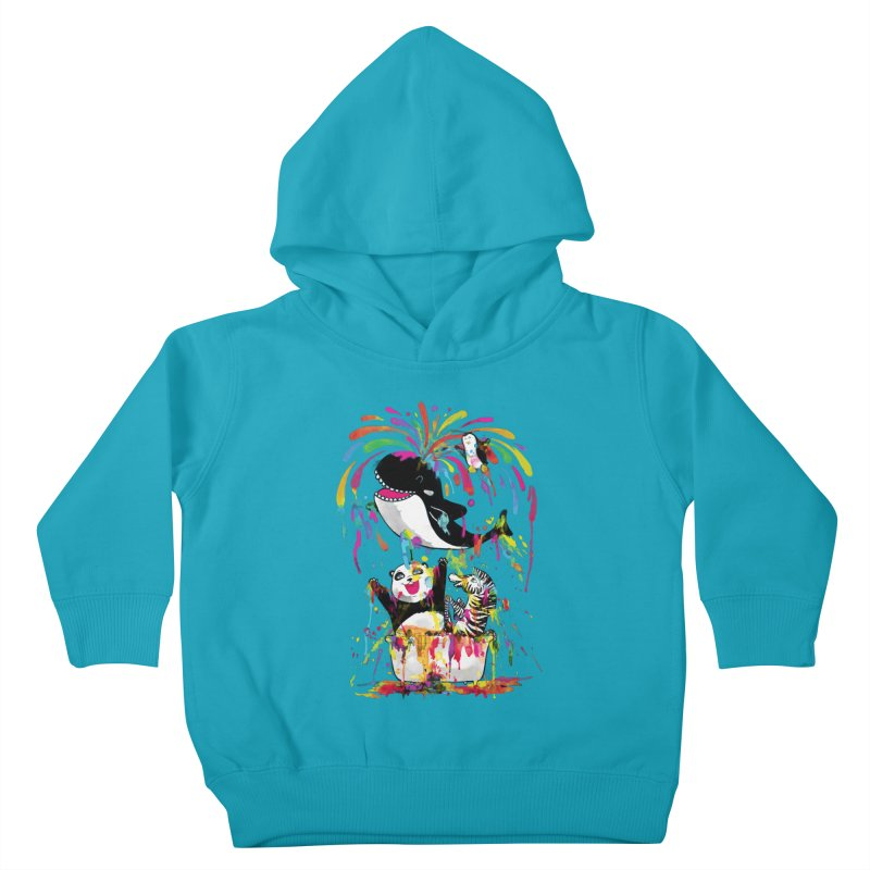 Whale of a Bath Time! Kids Toddler Pullover Hoody by Apparel by Marco aka ivejustquitsmoking