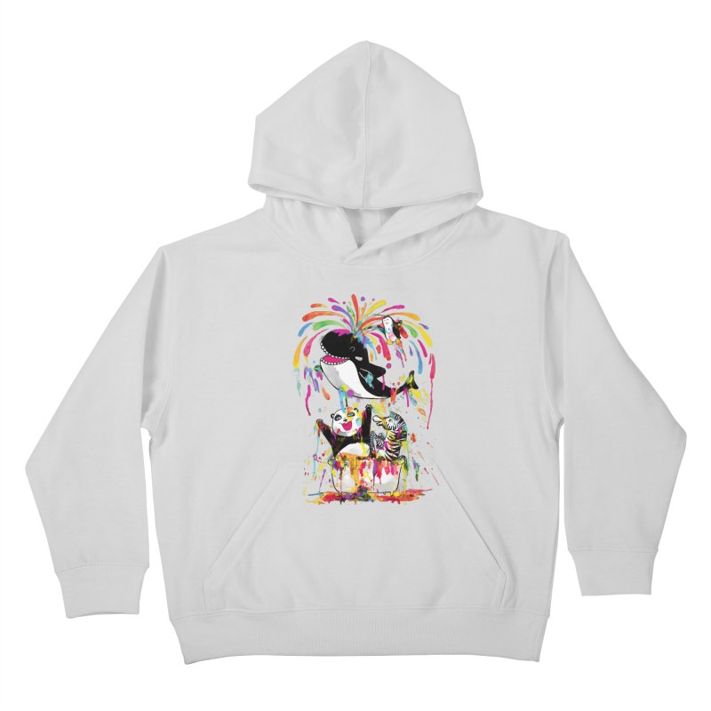 Whale of a Bath Time! Kids Pullover Hoody by Apparel by Marco aka ivejustquitsmoking