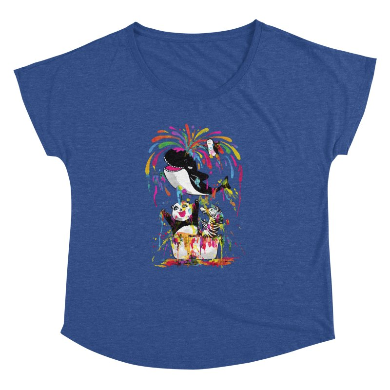 Whale of a Bath Time! Women's Dolman Scoop Neck by Apparel by Marco aka ivejustquitsmoking