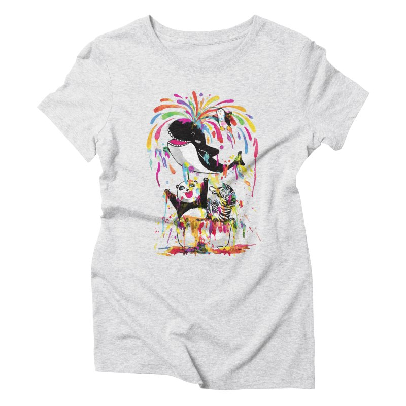 Whale of a Bath Time! Women's T-Shirt by Apparel by Marco aka ivejustquitsmoking
