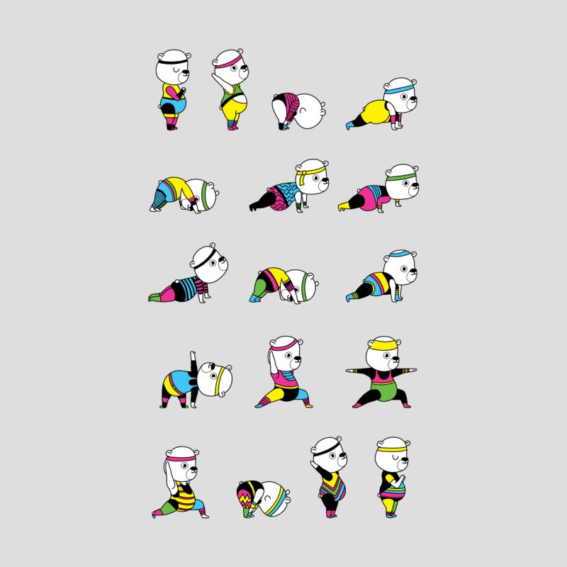 Yoga Bear 80's Remix by Apparel by Marco aka ivejustquitsmoking