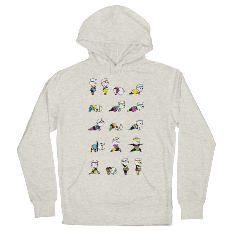 Yoga Bear 80's Remix Men's Pullover Hoody by Apparel by Marco aka ivejustquitsmoking