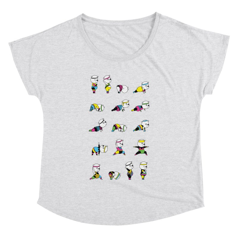 Yoga Bear 80's Remix Women's Dolman by Apparel by Marco aka ivejustquitsmoking