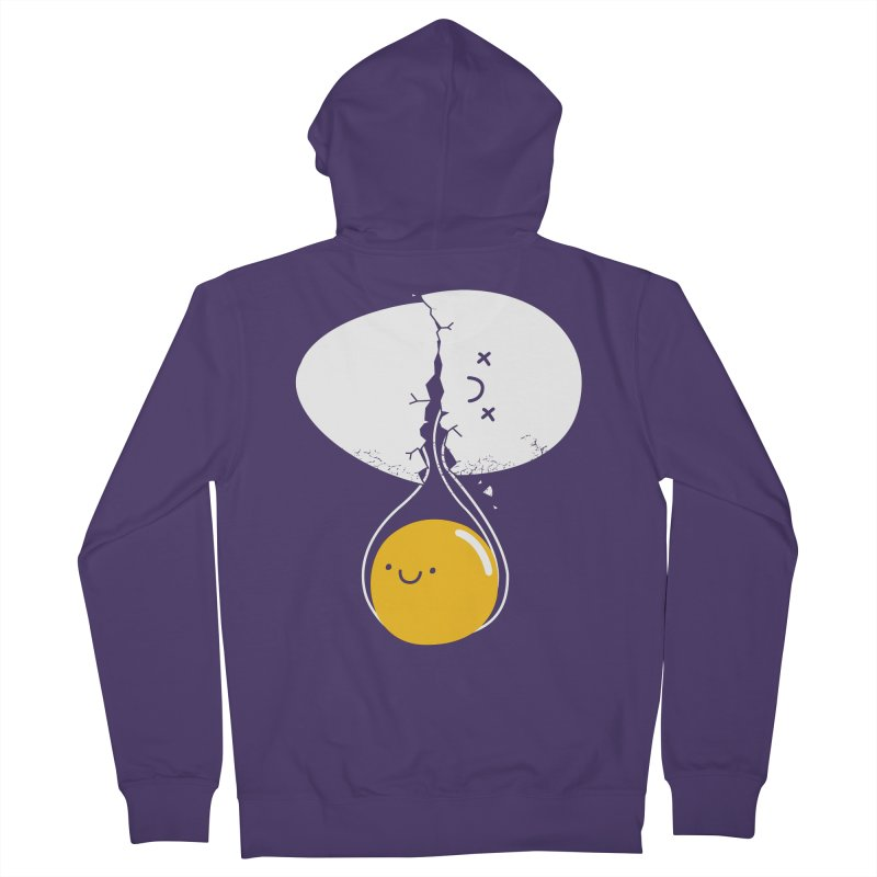 After Life Women's French Terry Zip-Up Hoody by Apparel by Marco aka ivejustquitsmoking