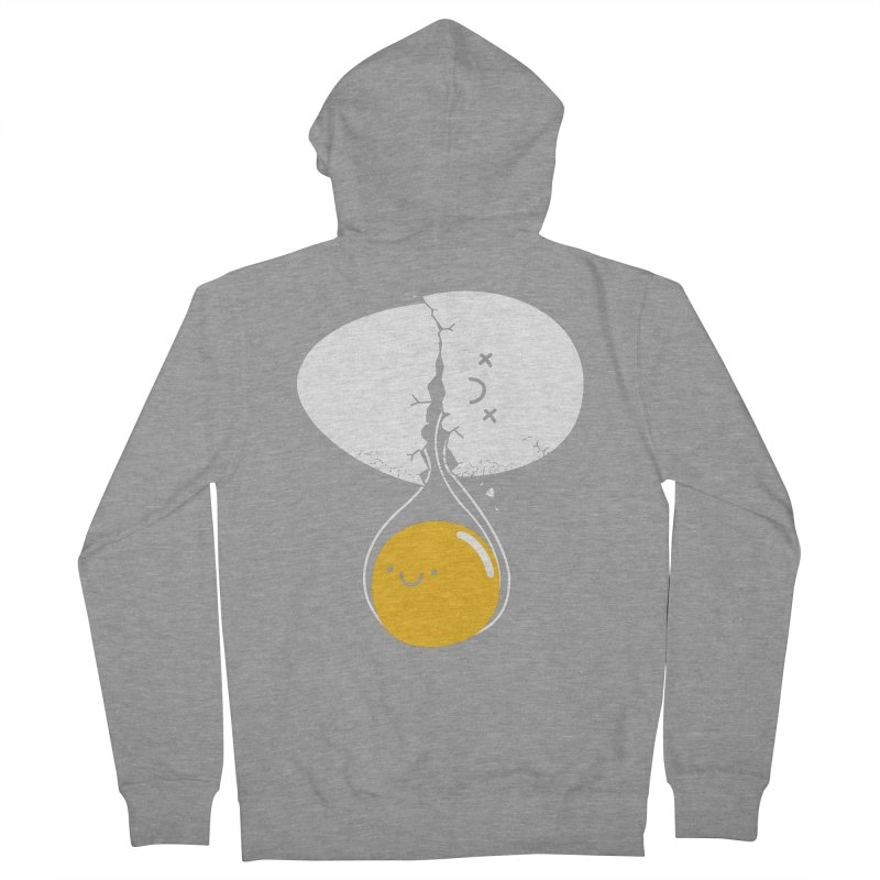 After Life Men's French Terry Zip-Up Hoody by Apparel by Marco aka ivejustquitsmoking