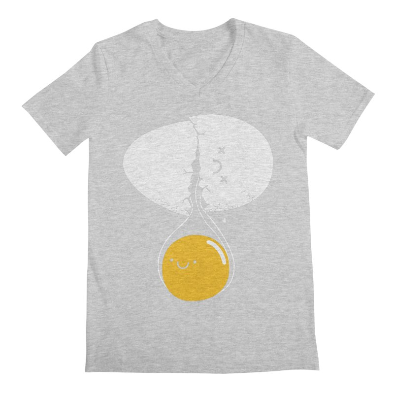 After Life Men's Regular V-Neck by Apparel by Marco aka ivejustquitsmoking