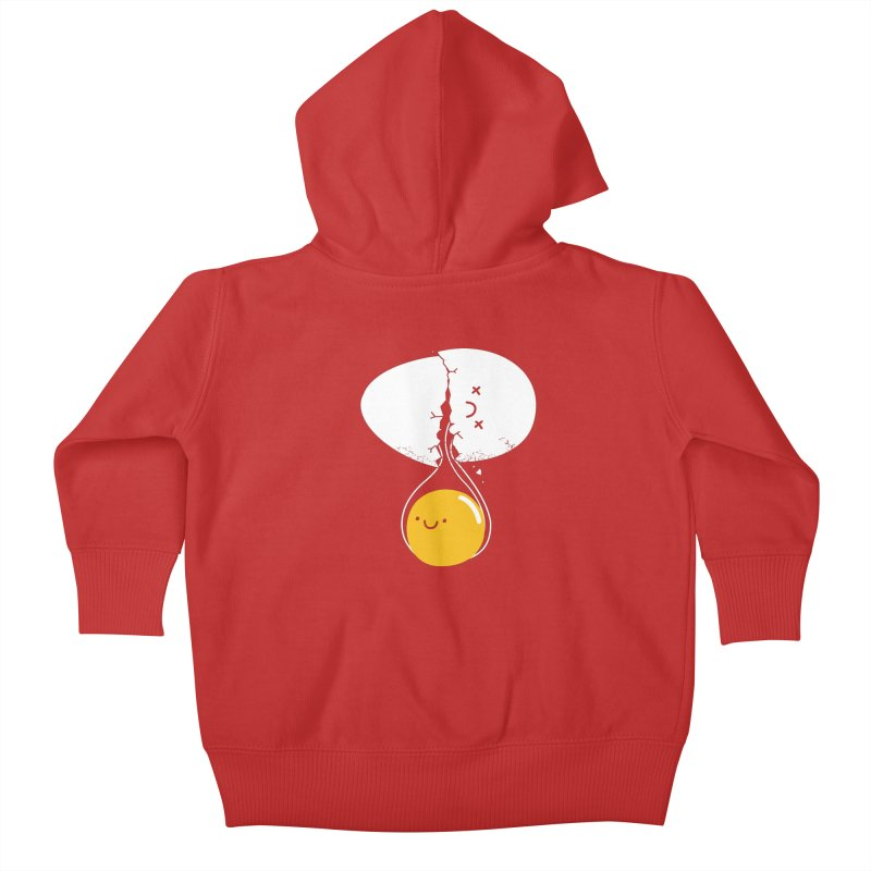 After Life Kids Baby Zip-Up Hoody by Apparel by Marco aka ivejustquitsmoking