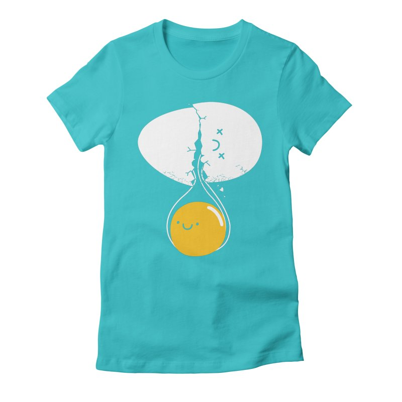 After Life Women's Fitted T-Shirt by Apparel by Marco aka ivejustquitsmoking