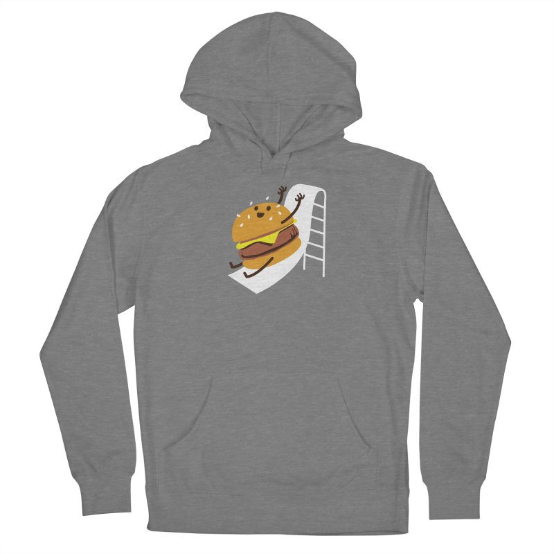 Slider Burger Women's Pullover Hoody by Apparel by Marco aka ivejustquitsmoking