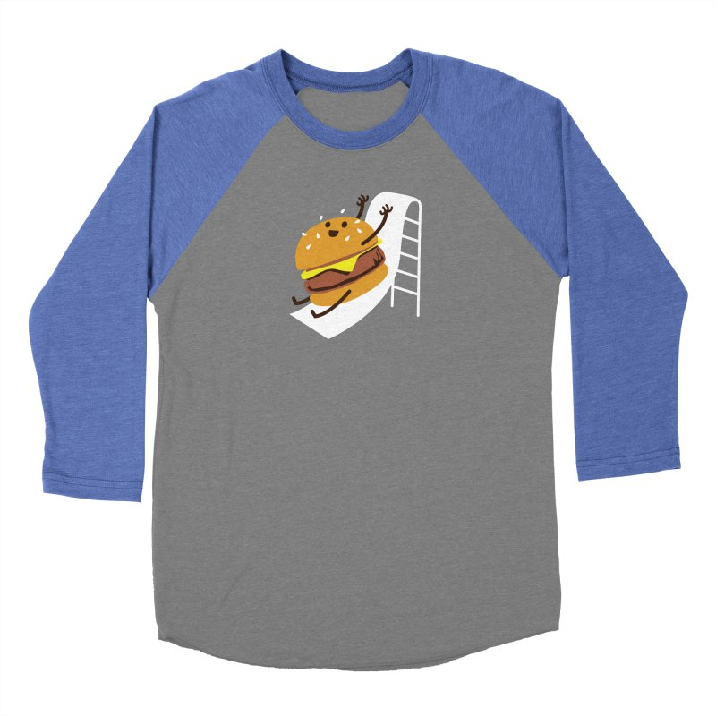Slider Burger Women's Longsleeve T-Shirt by Apparel by Marco aka ivejustquitsmoking