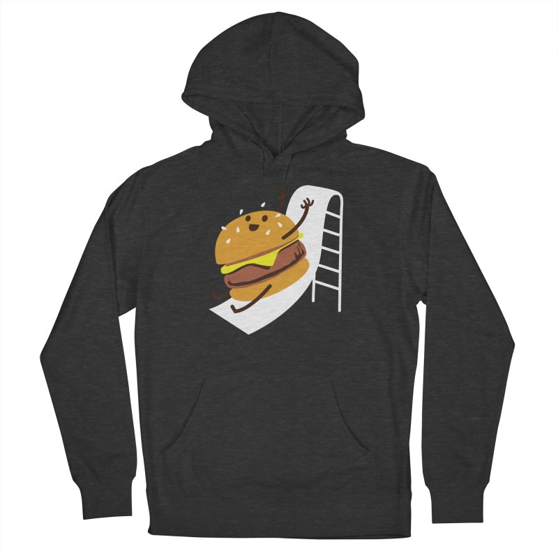 Slider Burger Women's French Terry Pullover Hoody by Apparel by Marco aka ivejustquitsmoking