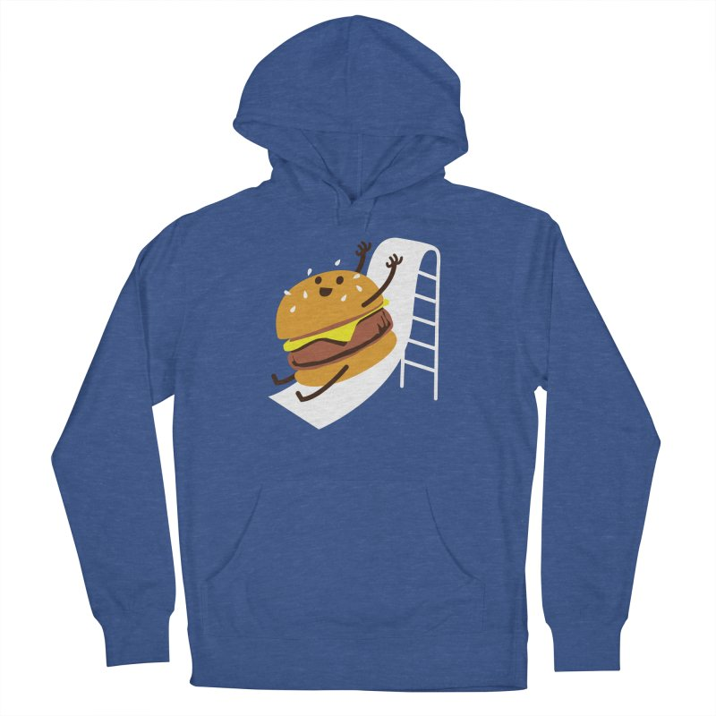 Slider Burger Men's Pullover Hoody by Apparel by Marco aka ivejustquitsmoking