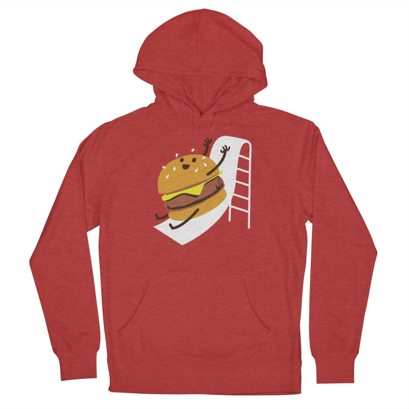 Slider Burger Men's French Terry Pullover Hoody by Apparel by Marco aka ivejustquitsmoking