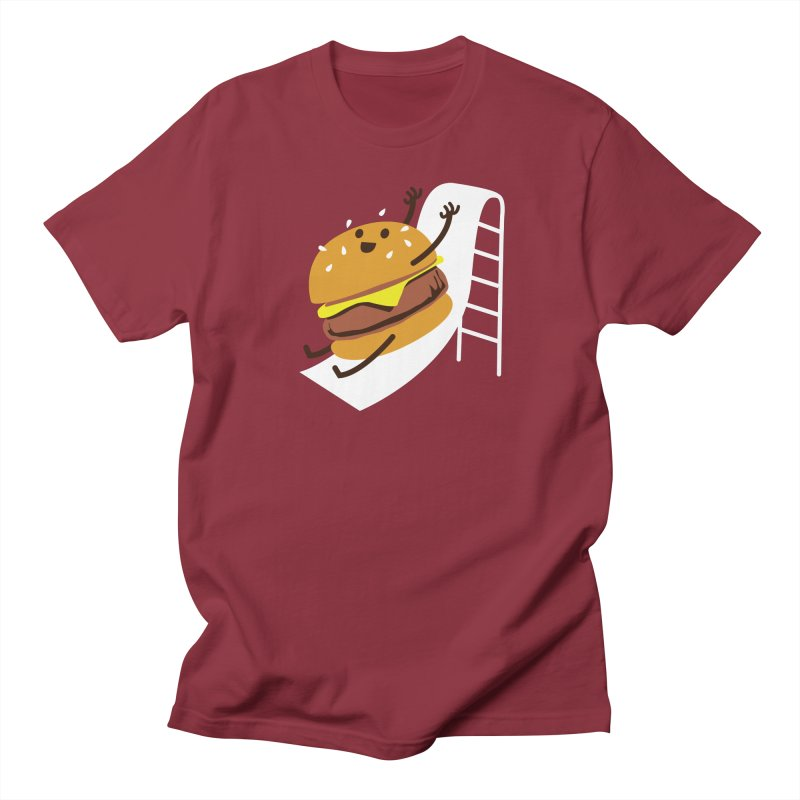 Slider Burger Men's T-Shirt by Apparel by Marco aka ivejustquitsmoking