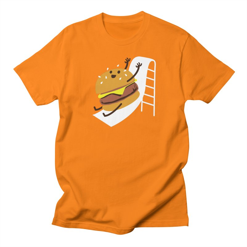Slider Burger Men's Regular T-Shirt by Apparel by Marco aka ivejustquitsmoking