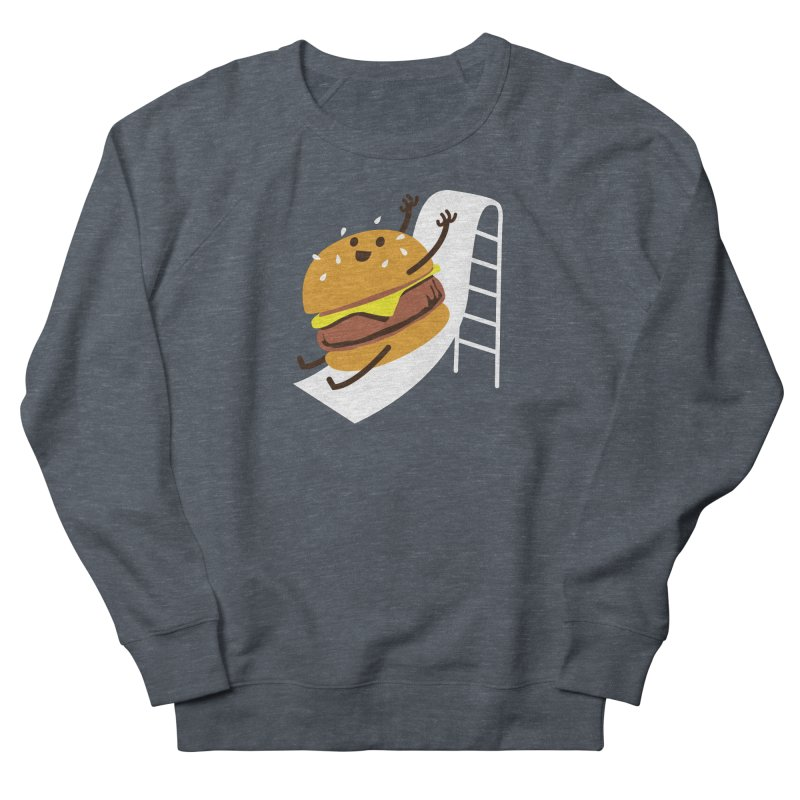 Slider Burger Men's Sweatshirt by Apparel by Marco aka ivejustquitsmoking