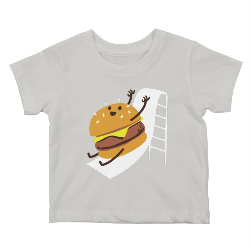 Slider Burger Kids Baby T-Shirt by Apparel by Marco aka ivejustquitsmoking
