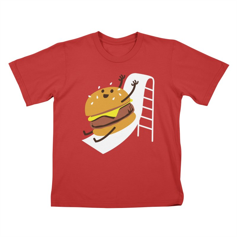 Slider Burger Kids T-Shirt by Apparel by Marco aka ivejustquitsmoking
